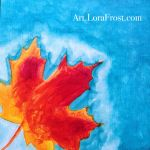 Life Sized Leaves: Maple Leaf 1/30