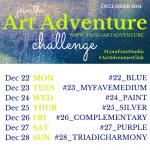 Week 4 - Dec 22 - 28th - Art Adventure Instagram Challenge