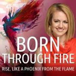 Healing with Art on Born Through Fire Podcast