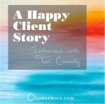 """""""Everyone Should Get A Painting"""" Interview with Client, Teri Connolly"""